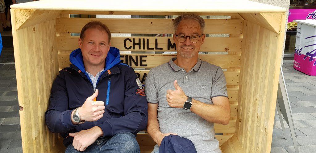 Gemeinsames Chill-Boxen-Bauen am 15. September – das beste!