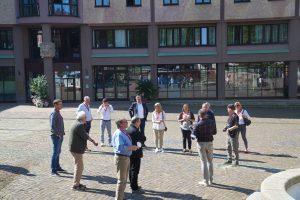 """Spannende Führung: Die Delegation von """"Ab in die Mitte"""" zeigte sich von Bebra beeindruckt. Fotos: Fröhnert"""